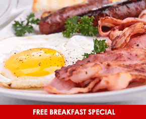 Free Breakfast Special Package