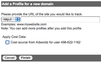 Add a profile for a new domain