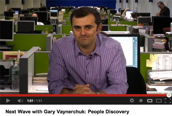 Gary Vaynerchuck on People Discovery