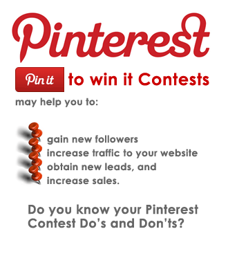 Pinterest Contest Guide