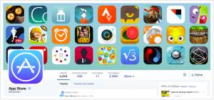 Apple App Store Twitter banner