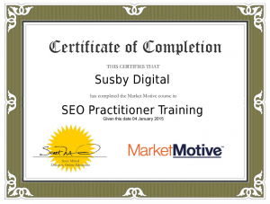 SEO Certified Practitioner