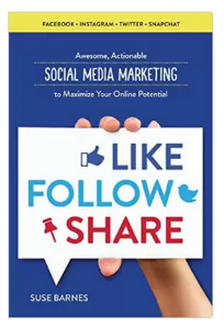 Like Follow Share: Awesome Actionable Social Media Marketing to Maximize Your Online Potential